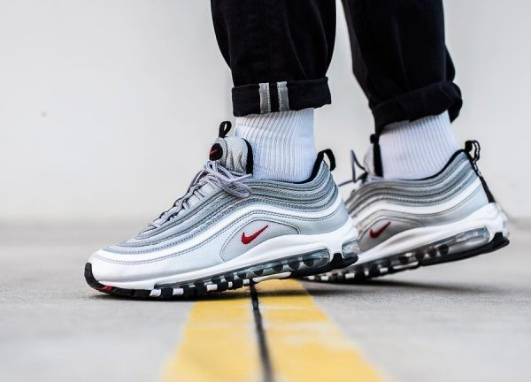 multiple colors good purchase cheap new style air max 97 or and argent 26e04 b9848