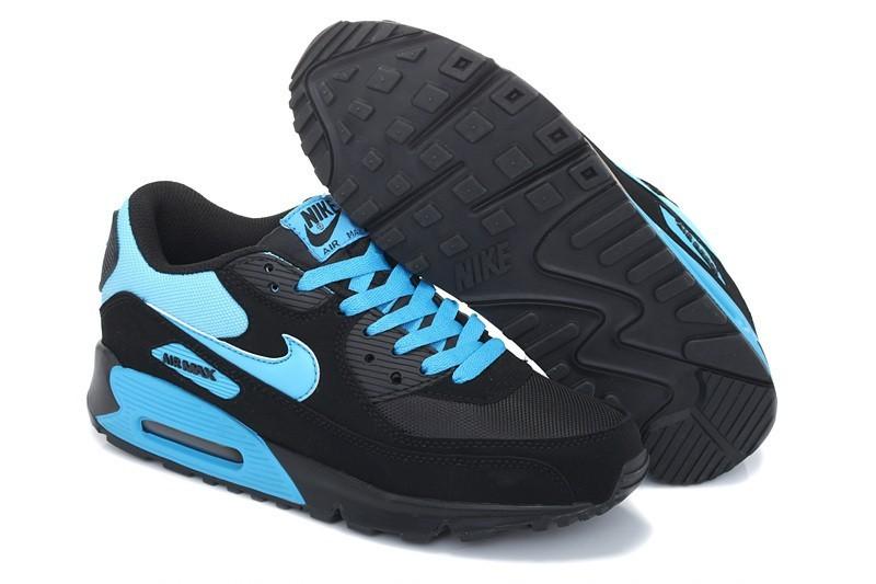air max bleu noir