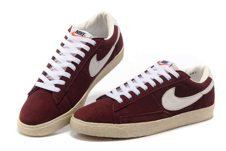 newest 8ce42 cdada nike blazer low femme rouge
