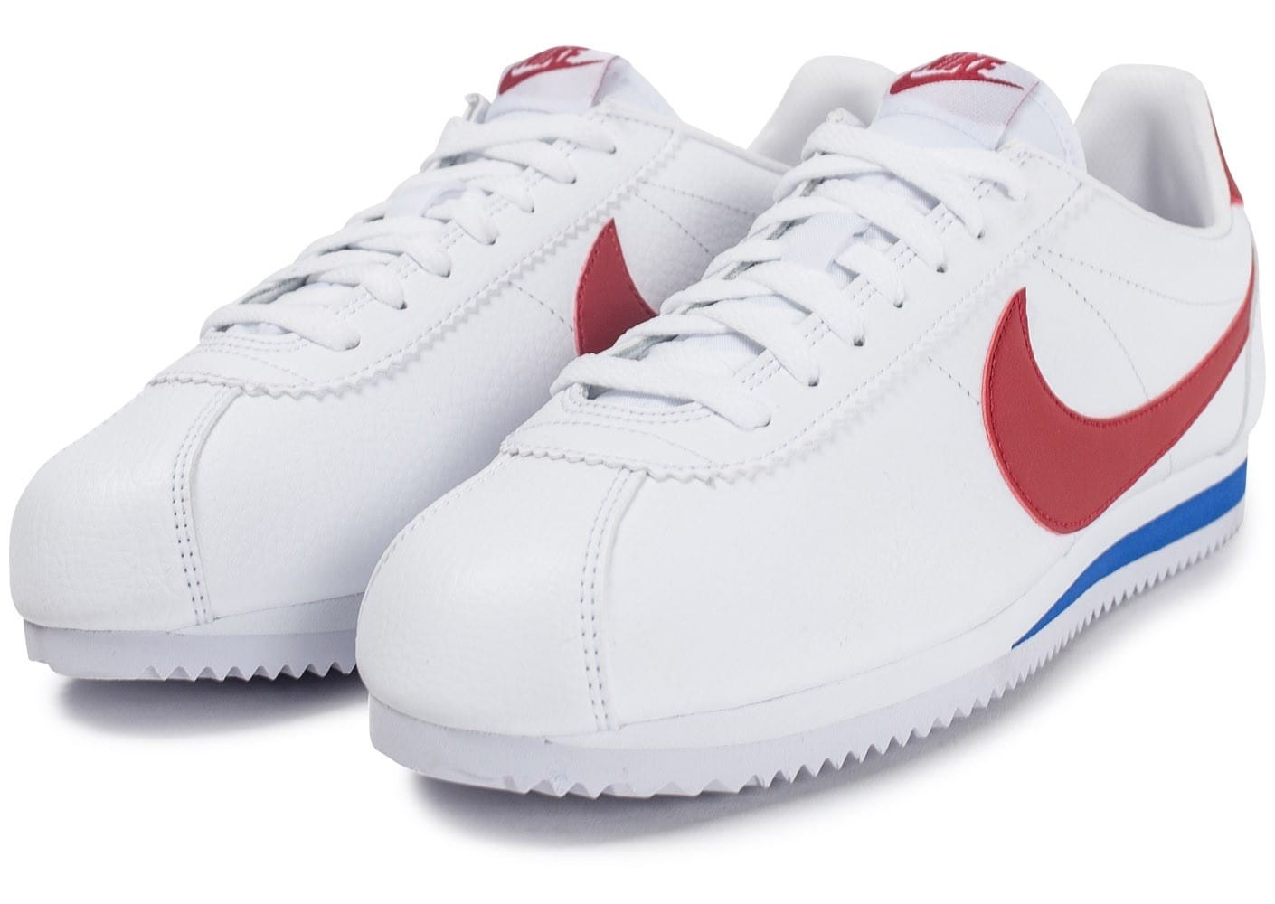 save off 35686 ba11a nike cortez bleu blanc rouge