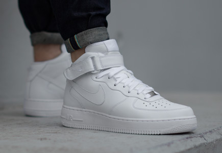 cd60aaba70a air force 1 mid femme