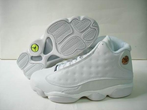 vente chaude en ligne 195dd 96622 air jordan 13 blanc