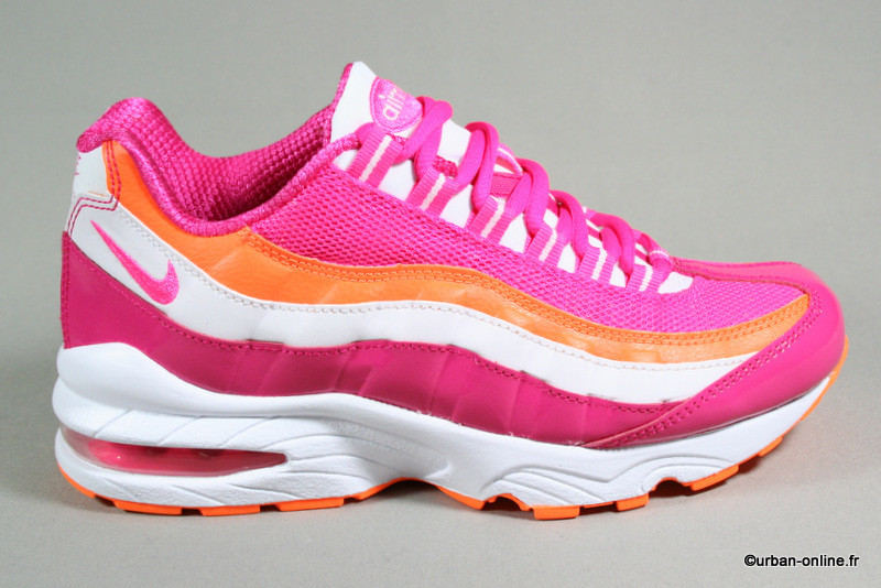 b0c04a902e3 air max 95 rose enfant