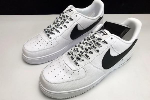Chaussures Homme Baskets montantes Nike AIR FORCE 1 MID 07 LEATHER Noir  Basse ... d531f868afeb