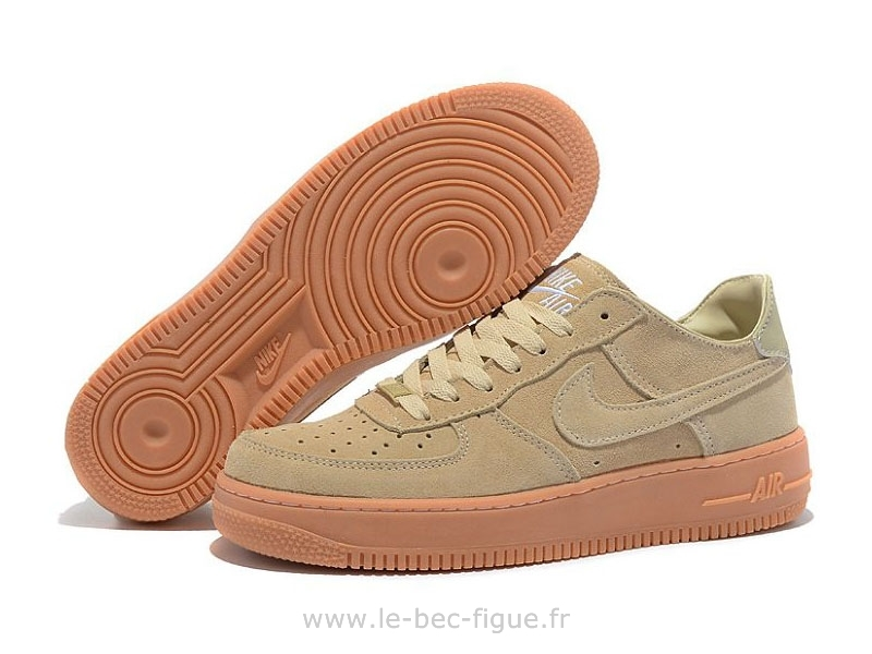 finest selection 8a003 cb479 nike air force 1 suede femme